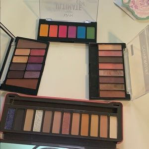 Other - Bundle of drugstore palettes